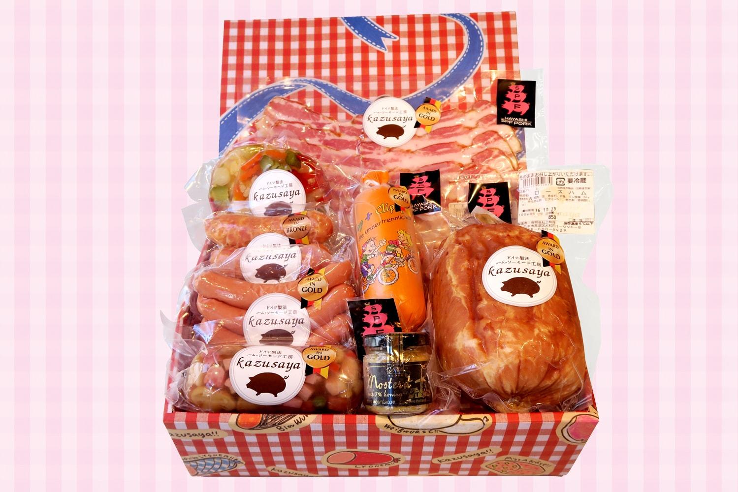 本場ドイツ人も認めた林SPF豚使用・完全オリジナル絶品ハム・ソーセージ
